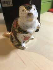 Royal Crown Derby Old Imari Beaver Limited Edition