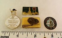 4 Little League Baseball PINs - NY D13 D43 D27 Ozone Howard LL