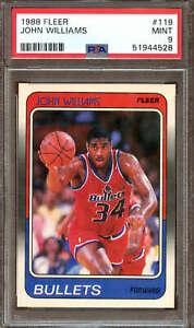 1988 Fleer Basketball #119 John Williams PSA 9 51944528