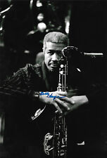 Billy Harper Jazz signed 8x12 inch photo autograph