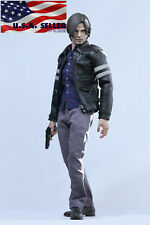 "1/6 Leon Scott Kennedy Resident Evil Jacket Clothing Set For 12"" Figure ❶USA❶"