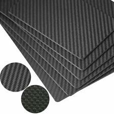 200x300 - 0.5-3mm 100% полное углеродное волокно пластина панель лист 3K простой матовый плетение