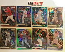 2020 Panini Prizm Baseball Insert & Parallel Card YOU PICK Red Blue Donut Mojo .