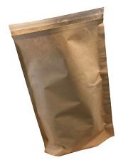 More details for paper tamper evident mailing sack, natural, 325x500mm+100mm obg in packs of 100