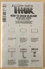 MIGHTY THOR #700 CHIP ZDARSKY HOW TO DRAW VARIANT COVER MARVEL DECEMBER 2017 NM