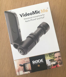 Rode VideoMic Me, Directional pickup for iPhone/iPad, New Condition-OPEN BOX