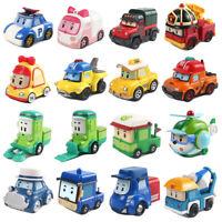 Robocar Poli Mini Toy Car Metal Diecast Model Vehicle Kids Boy Collect Gift New