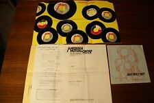 AMG Records Promo Marketing Material Poster 1975 - Roulette DECCA Royal American