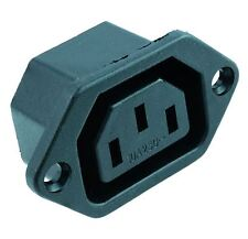 10 x C13 IEC Chassis Outlet Socket Chassis