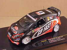 Ixo 1/43 Diecast Ford Fiesta RS WRC, 2012 Monte Carlo Rally, GO FAST!  #RAM495