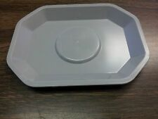 GRAY AMENITY TRAY FOR BATH OR FACE SOAP (( ONE TRAY )) HOUSEHOLD/HOTEL