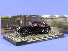 CITROEN TRACTION AVANT WITH LOVE FROM RUSSIA 1/43 BOND UNIVERSAL HOBBIES 007