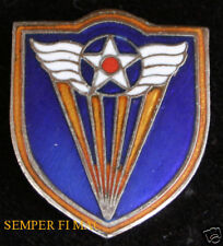 4TH US AIR FORCE HAT LAPEL PIN UP MARCH AFB RESERVES US ARMY CORPS VETERAN GIFT