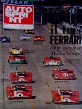 Autosprint 13 1972 Speranze Alfa a Sebring. Le Gr.2 costano quanto le Formula 1
