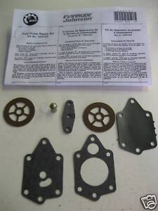 Evinrude,Johnson,OMC Outboard Fuel Pump Repair Kit 20/25/30/35hp/40hp/50hp/60hp