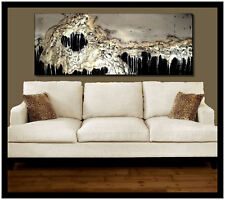 Abstract Painting Modern Canvas Wall Art Large, Signed, Framed, US  ELOISExxx