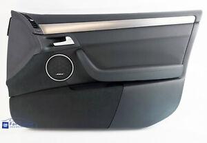 NOS Holden WM Statesman Caprice RHF Leather & Suede Door Trim Onyx Black, Bose
