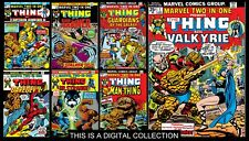 Marvel Two in one collection ( 105 DIGITAL COMICS )