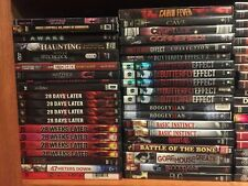 Horror movies. PICK and CHOOSE 219 Scary dvd lot--Buy Multiples and SAVE!