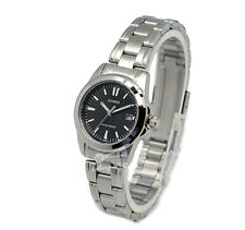 -Casio LTP1215A-1A2 Ladies' Metal Fashion Watch Brand New & 100% Authentic