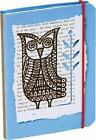 Woodland Creatures Flexi-bound Mini Notebook (Owl) by  in New