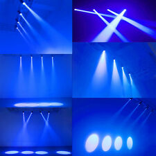 3W LED Disco Spot Light Blue Laser Projector Stage DJ Party Club Round Lighting