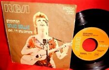 "DAVID BOWIE Starman/John I'm only dancing 7"" 45rpm PS 1972 ITALY EX"
