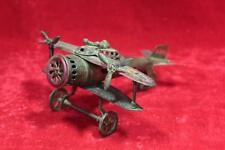 Old Vintage Antique Rare Brass Airplane Aircraft Model Toy Collectible PX-39