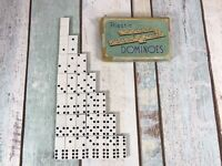 Vintage Chad Valley plastic dominoes COMPLETE Family Fun Game