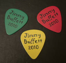 New listing 2010 Custom Jimmy Buffett 3 Color Option Guitar Picks