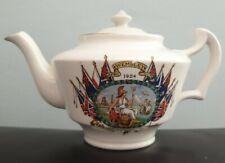 More details for 1924 british empire exhibition wembley teapot cauldon empire exhibition teapot.