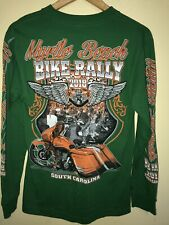 Myrtle Beach South Carolina Bike Rally Biker Club Long Sleeve Size S