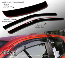 Outside Mount Rain Guards Visor Top Sun roof Combo 3pcs For Acura Integra 94-01