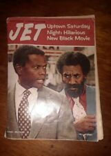 Jet Magazine July 25 1974 - Sidney Poitier Bill Cosby - William Marshall Estate