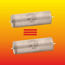 0.47 uF 400 V STRONG MATCHED PAIR PAPER IN OIL PIO AUDIO CAPACITORS K40Y-9