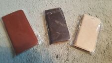 IPhone 6  and 6S Flip Wallet case faux leather with stand