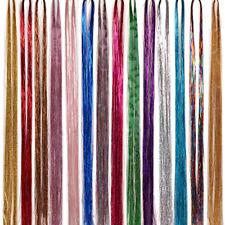 Hair Tinsel Strands Sparkling Glitter Dazzle Bling 100CM 14 Color 2000 Strands