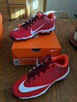 Nike Vapor Ultrafly 2 Keystone BG Youth Baseball Cleats Red size 2 New in Box