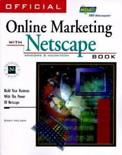 "BRAND NEW* ""Official Online Marketing with Netscape Book~Greg Holden 1996 Pback"""