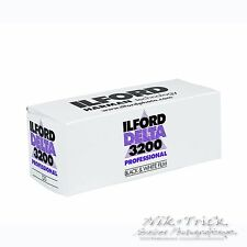 Ilford Delta 3200 ~ Single 120 Roll ~ Fresh UK Stock