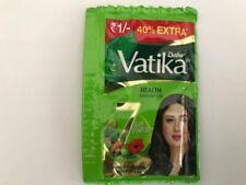8x Dabur Vatika Shampoo Health Natural Travel Holiday Pouch Pack Sachet 5.6ml