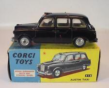 Corgi Toys 418 Austin London Taxi Cab BLACK/NOIR en neuf dans sa boîte #5447