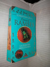 RAMSES LA DIMORA MILLENARIA Christian Jacq Mondadori 1998 I miti romanzo libro