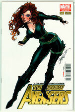 New Avengers #28 La Mole Variant Black Widow Campbell Marvel Mexico Spanish