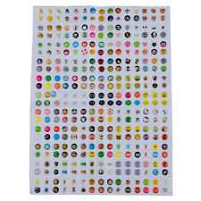 New 300Pcs home button sticker for iphone 4 4S 5 ipad N0F6