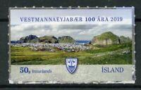 Iceland 2019 MNH Vestmannaeyjar Municipality 1v S/A Tourism Landscapes Stamps