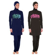 Modesty Muslim Women Swimwear Swimsuit Full Cover Islamic Beachwear Burkini Lady