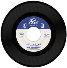 """BIG MAYBELLE  """"LET ME GO c/w NO BETTER FOR YOU""""  NORTHERN SOUL  LISTEN!"""