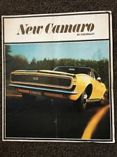 1967 New Camaro Brochure