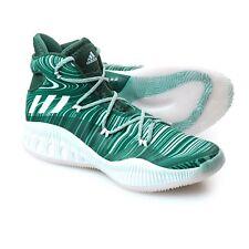 Men's Adidas Crazy Explosive NBA Basketball Sneakers Shoes Green Size 20